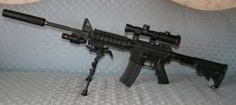 m16 a1 with silencer